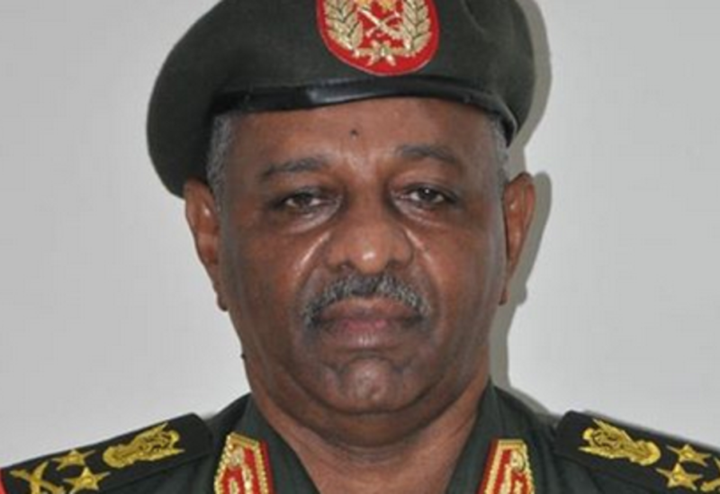 Sudan's Chief of staff, General Mohamed Othman al-Hussein