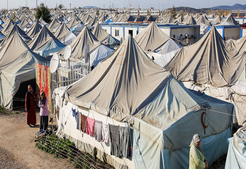 Syrian refugee camps in Turkey