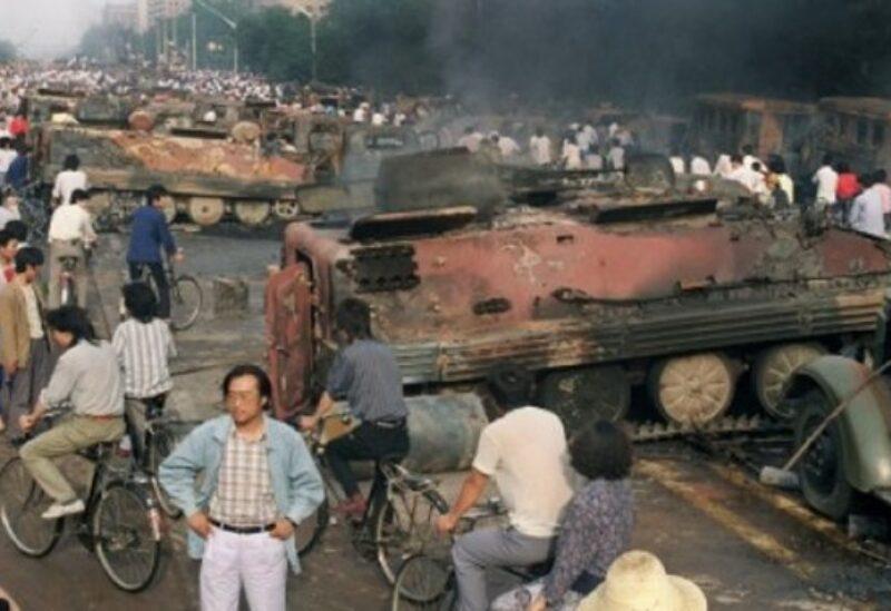 Tiananmen Square crackdown. Archive