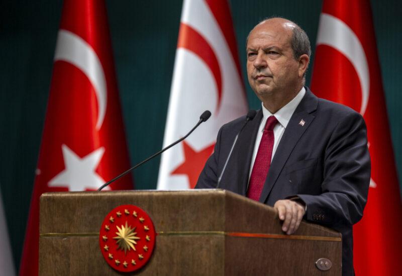 Turkish Cypriot leader Ersin Tatar