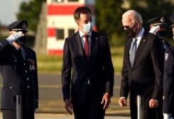 US President Joe Biden in Brussels