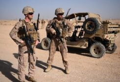 US Troops in Afghanistan. (File photo: AFP)