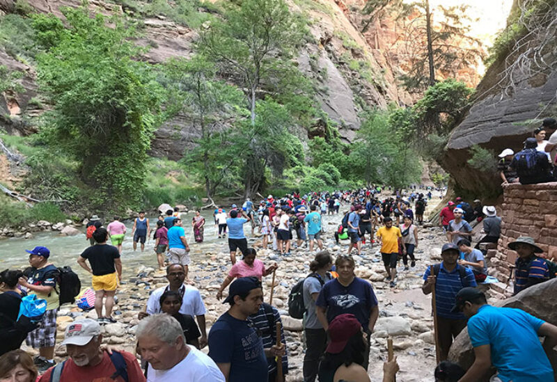 Woman died while canyoneering in Zion National Park