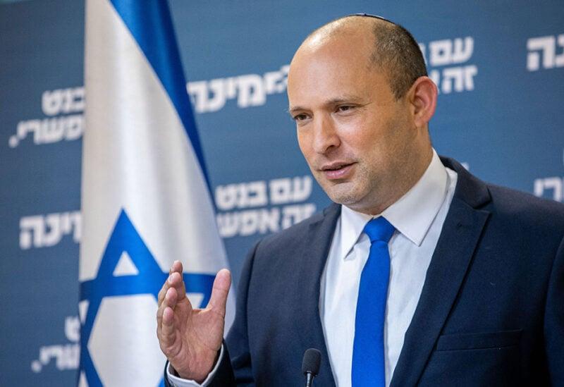 Naftali Bennett, Israeli parliament member from the Yamina party,