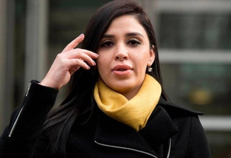 """The wife of Mexican drug lord Joaquin """"El Chapo"""" Guzman, Emma Coronel Aispuro"""