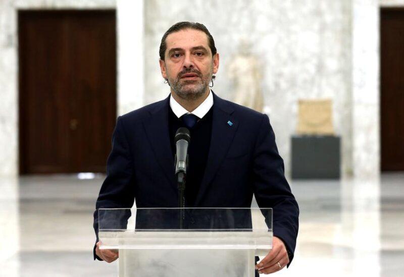Lebanon's Prime Minister-Designate Saad al-Hariri
