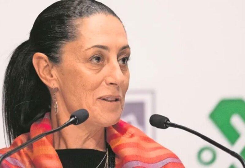 Mexico City Mayor Claudia Sheinbaum