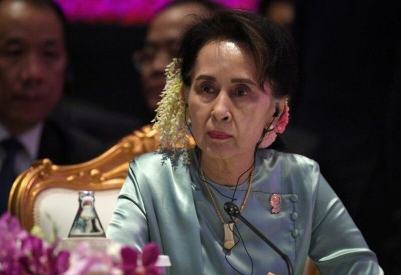 Deposed leader Aung San Suu Kyi