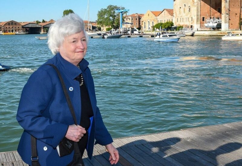 US Secretary of the Treasury Janet Yellen arrives to attend the G20 finance ministers and central bank governors' meeting in Venice, Italy, on July 9, 2021. (Reuters)