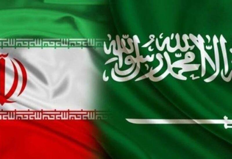The flags of Iran and Saudi Arabia. (Stock image)