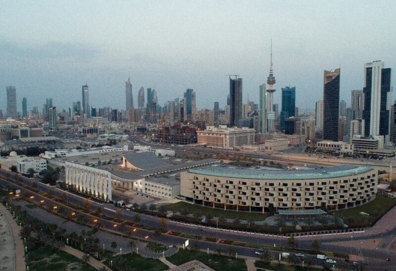 Aerial view of Kuwait City after the country entered lockdown due to the coronavirus pandemic, March 20, 2020. (File photo: Reuters)