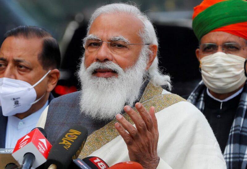 India's Prime Minister Narendra Modi in New Delhi, India, on January 29, 2021. (File Photo: Reuters)