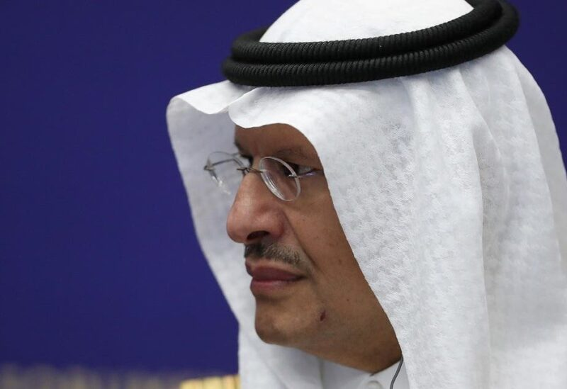 Saudi Energy Minister, Prince Abdulaziz bin Salman al-Saud, attends a session of the St. Petersburg International Economic Forum (SPIEF) in Saint Petersburg, Russia, June 3, 2021. (File photo: Reuters)