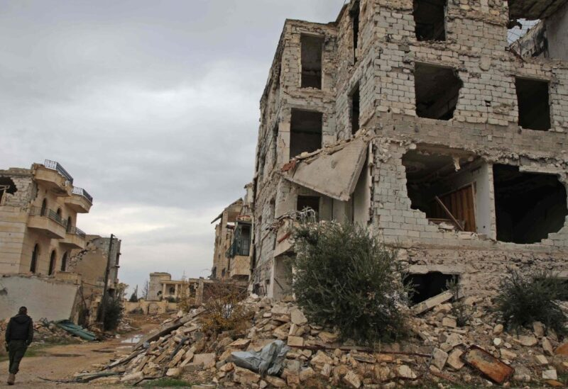 Aleppo damages Archive