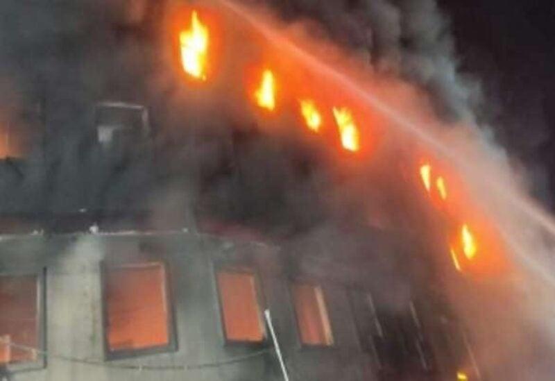 Bangladish fire