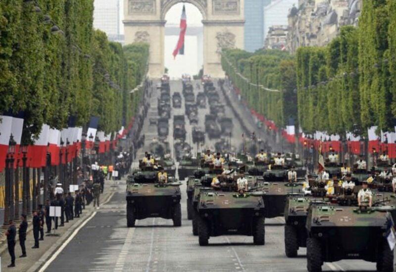 Bastille Day celebrations.