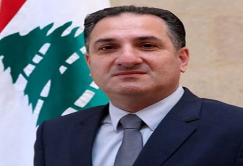 Caretaker Tele-Communications Minister Talal Hawat