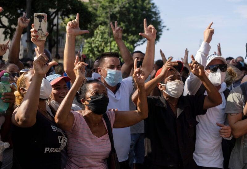 Cuba demonstrations