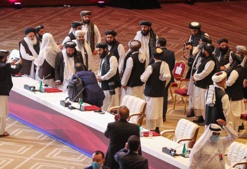 Doha, Afghan Taliban meeting