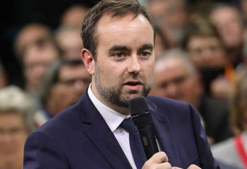 French Minister for Local Authorities Sebastien Lecornu