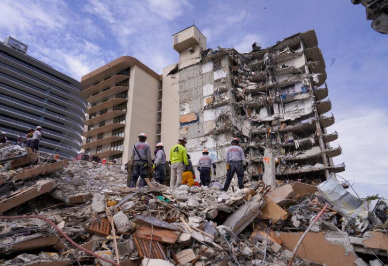 Florida condominium tower collapse