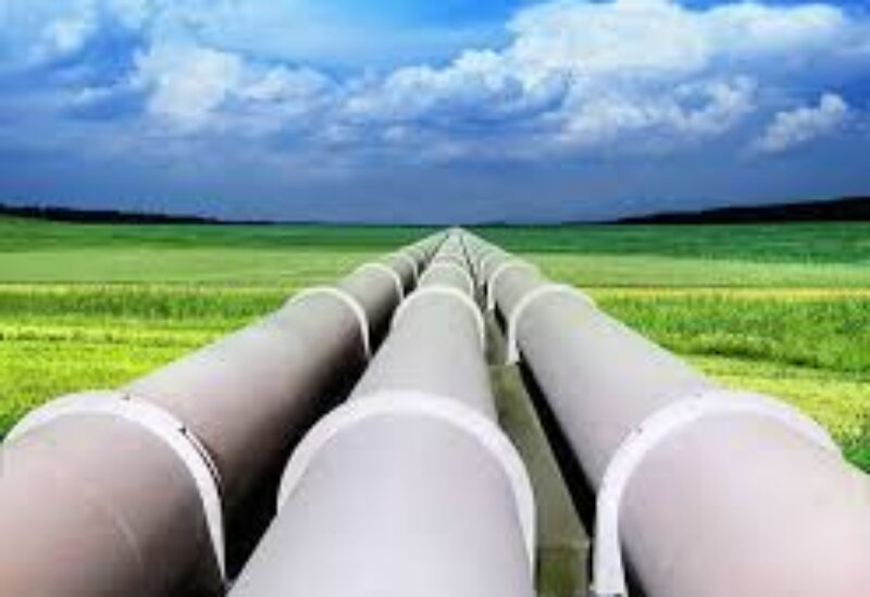 A gas pipeline