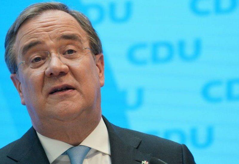 Germany Centre-right Christian Democrats leader Armin Laschet