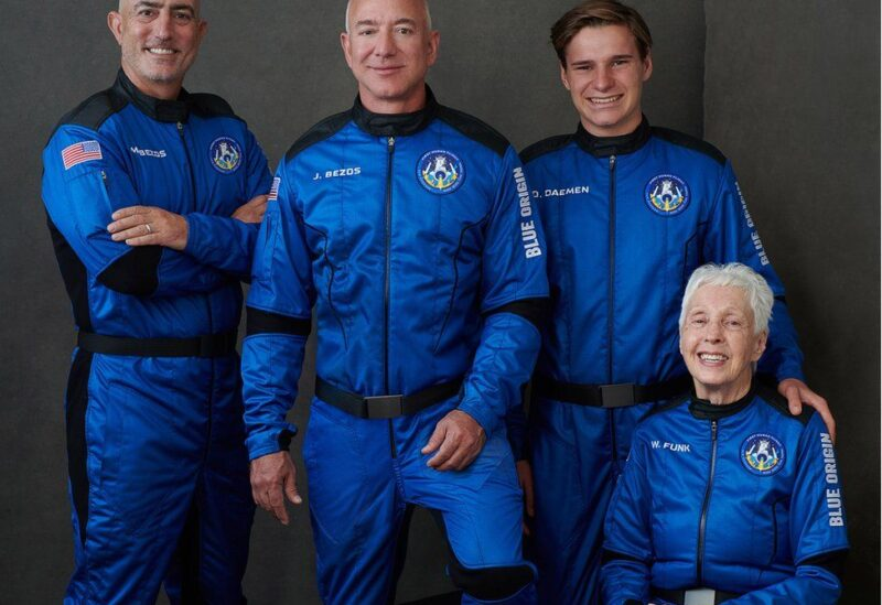 Jeff Bezos and the team