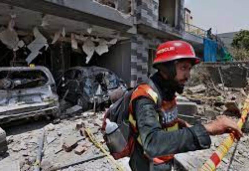Lahore blast archive