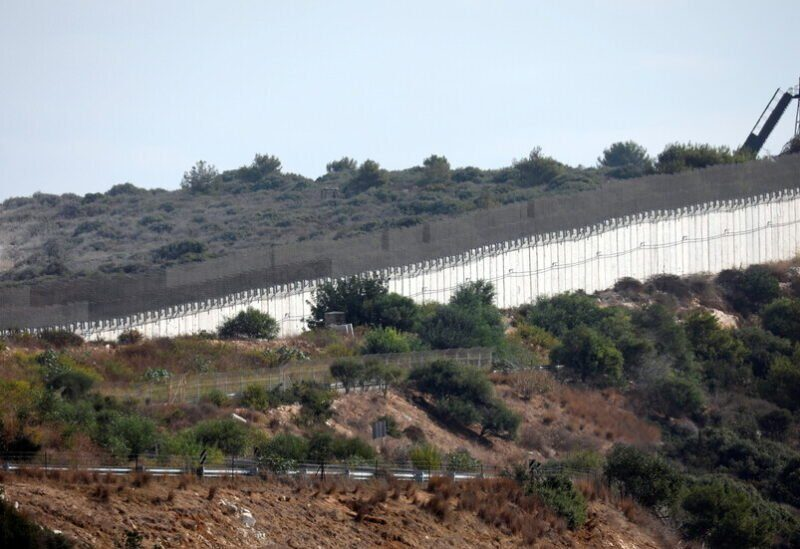 Lebanese border with occupied territories