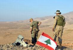 Members of the Lebanese army
