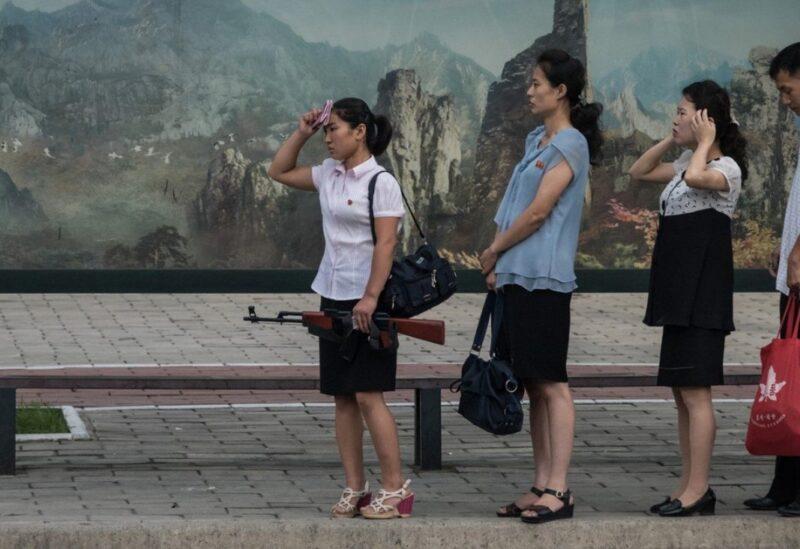 North Korea women