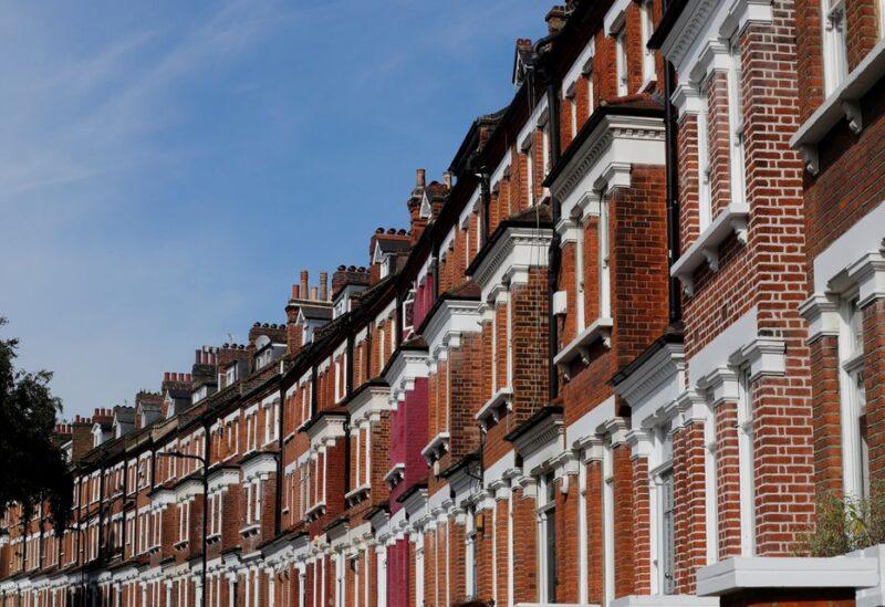 Terraced houses are seen in Primrose Hill, London, Britain September 24, 2017. REUTERS/Eddie Keogh/File Photo