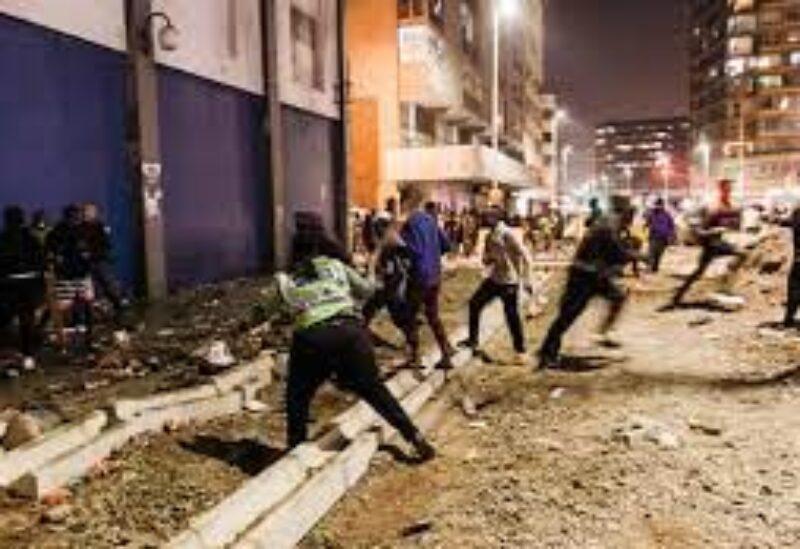 S. Africa riots