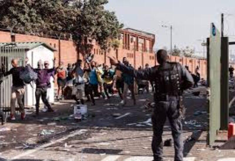 S.Africa riots
