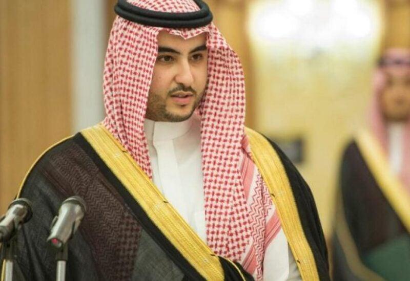 Saudi deputy defense minister, Prince Khalid bin Salman