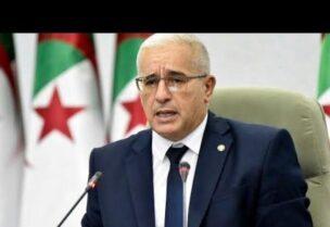 Speaker of the Algerian Parliament, Ibrahim Bougali