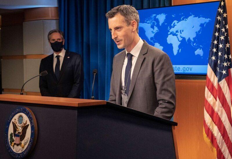 State Department spokesman Ned Price