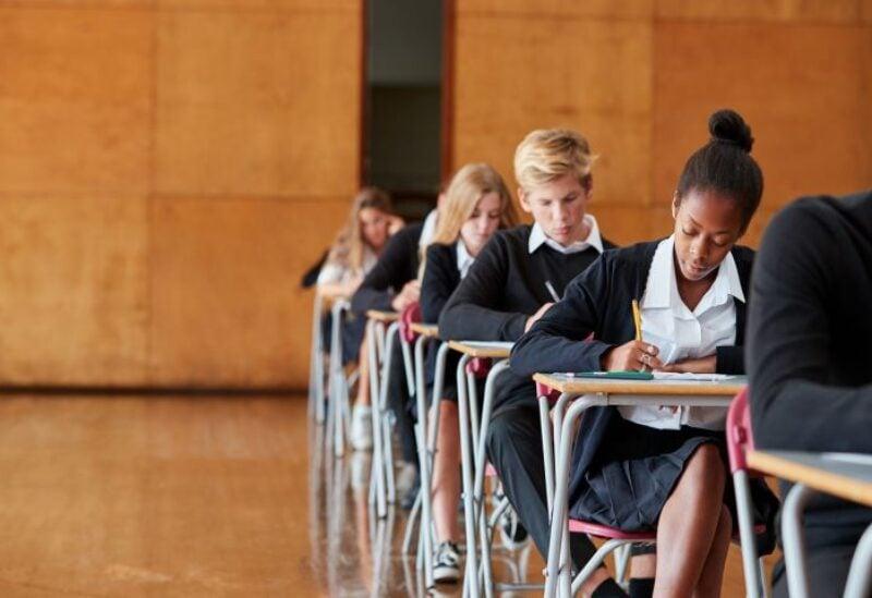 Students in UK schools