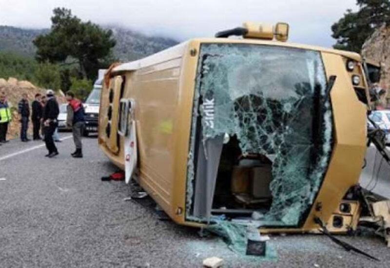 Turkey, bus crash