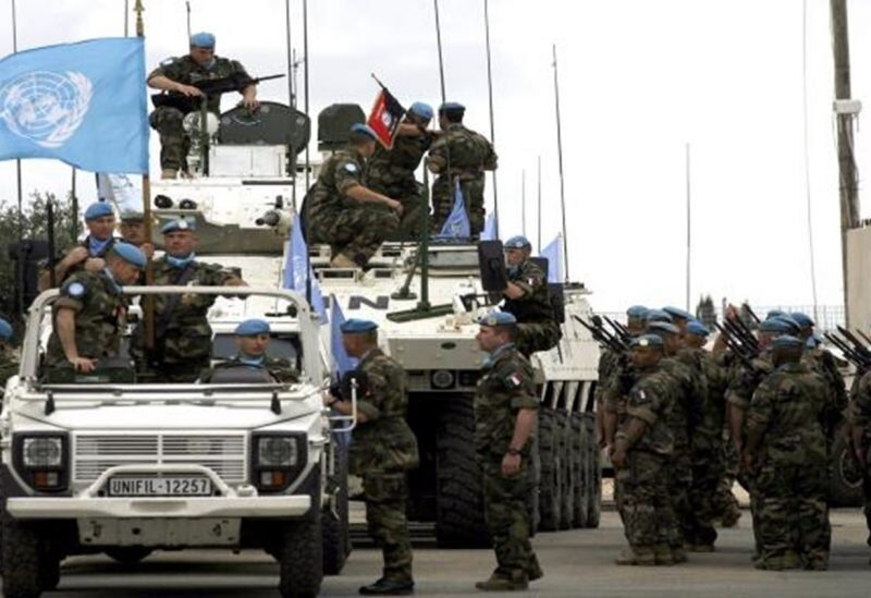 UNIFIL force in Lebanon - archive