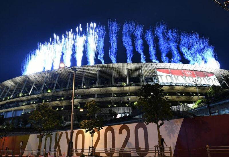Fireworks light up the sky above the Olympic Stadium during the opening ceremony of the Tokyo 2020 Olympic Games, in Tokyo, on July 23, 2021.(File photo: AFP)