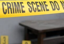 crime scene symbolic