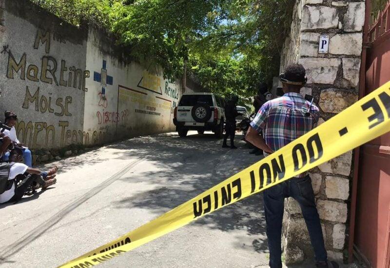 residence of Haiti's President Jovenel Moise