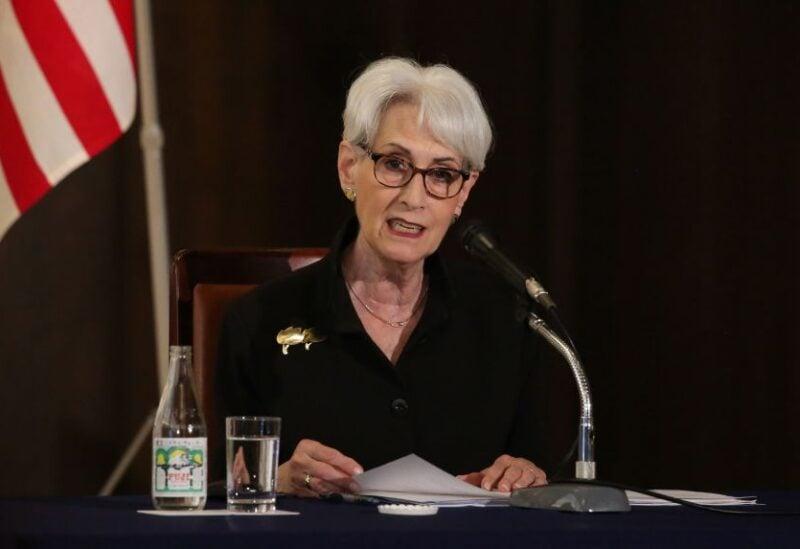 US Deputy Secretary of State Wendy R Sherman