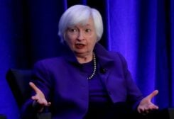 Janet Yellen speaks during a panel discussion in Atlanta, Georgia, US. (File photo: Reuters)