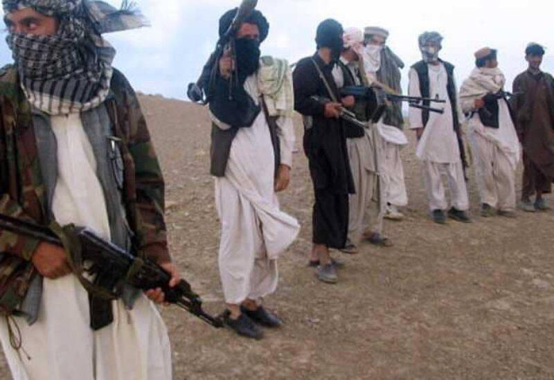 Members of Taliban militia