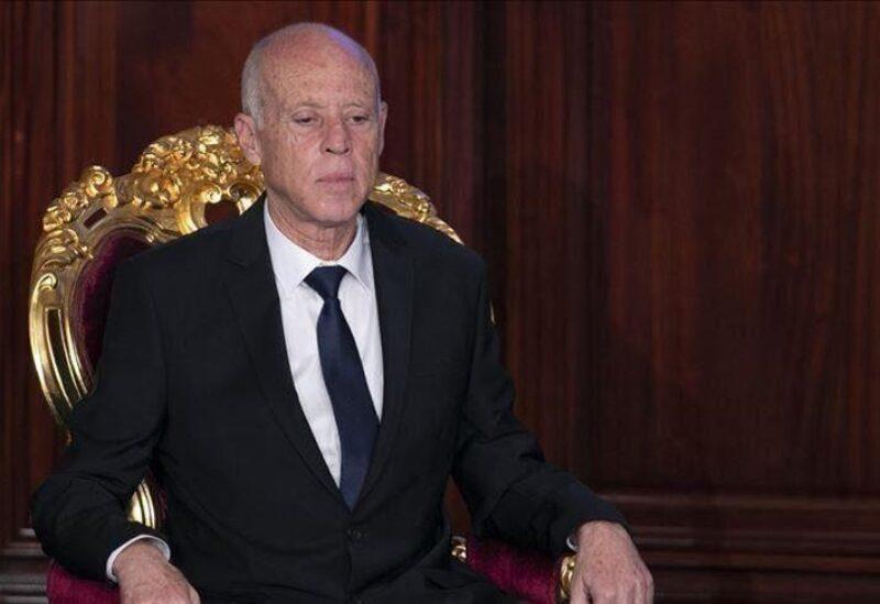 Tunisia's President Kais Saied