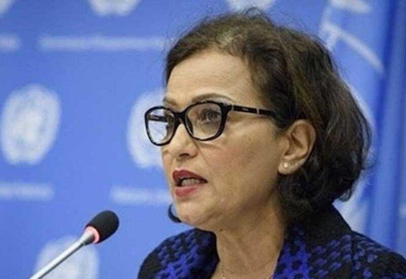 United Nations Humanitarian Coordinator in Lebanon, Najat Rushdi,