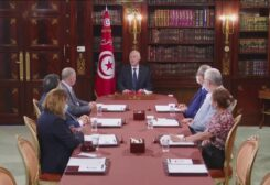 A file photo shows Tunisian President Kais Saied during a televised address on the political crisis. (Supplied)